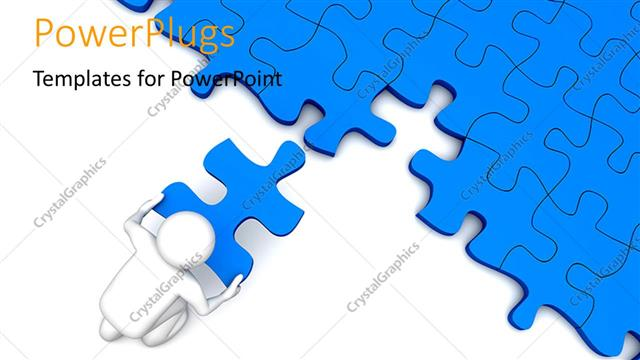 Powerpoint templates puzzle image collections powerpoint powerpoint template 3d character placing the missing piece over powerpoint template displaying 3d character placing the toneelgroepblik Gallery