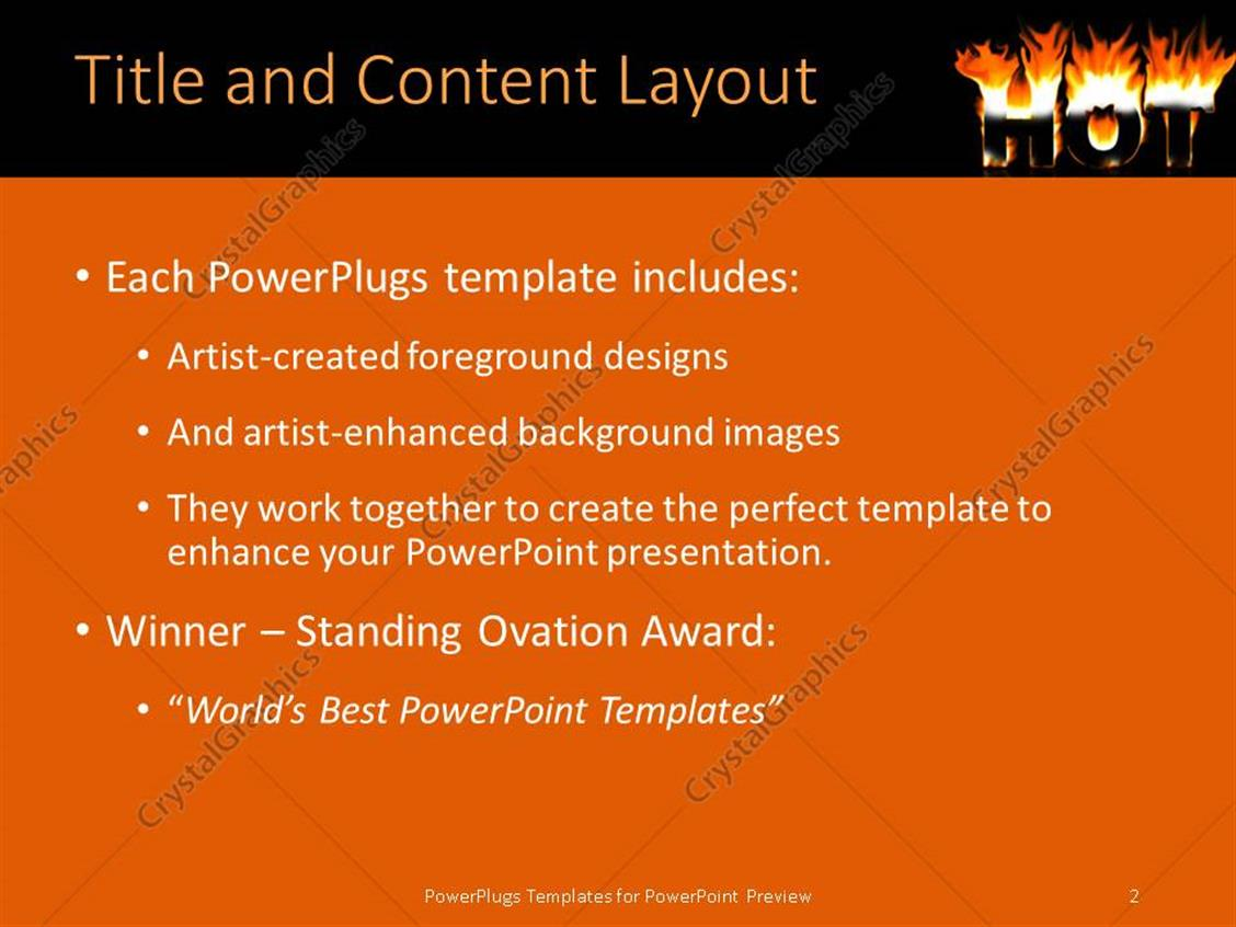 powerpoint template menu images - powerpoint template and layout, Modern powerpoint