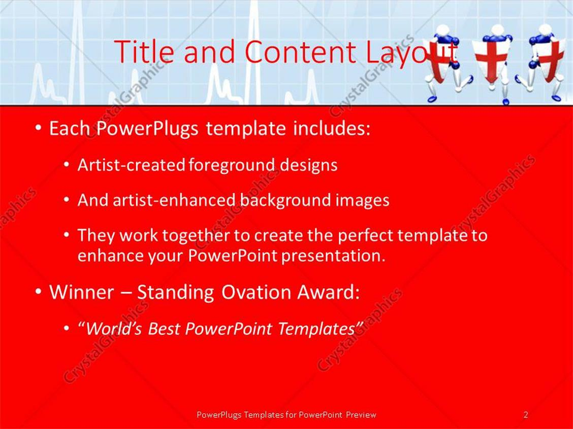 powerpoint template 3d people with medical shield protecting