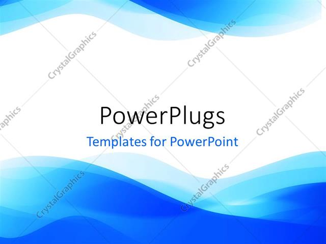 Powerpoint template abstract blue waves on white background 933 powerpoint template displaying abstract blue waves on white background toneelgroepblik Gallery