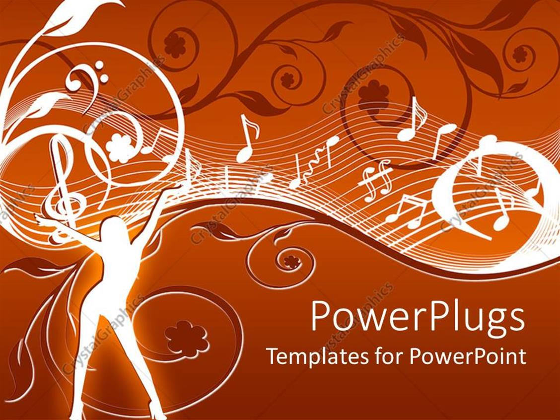 music powerpoint template images - templates example free download, Modern powerpoint