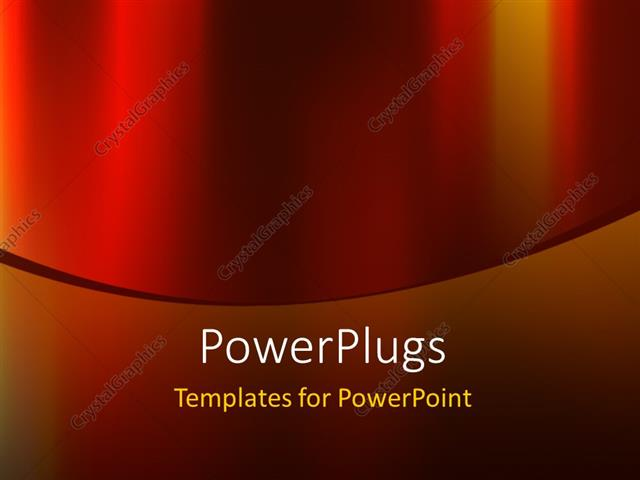 Powerpoint Template: Abstract Elegant Red Color Background Design