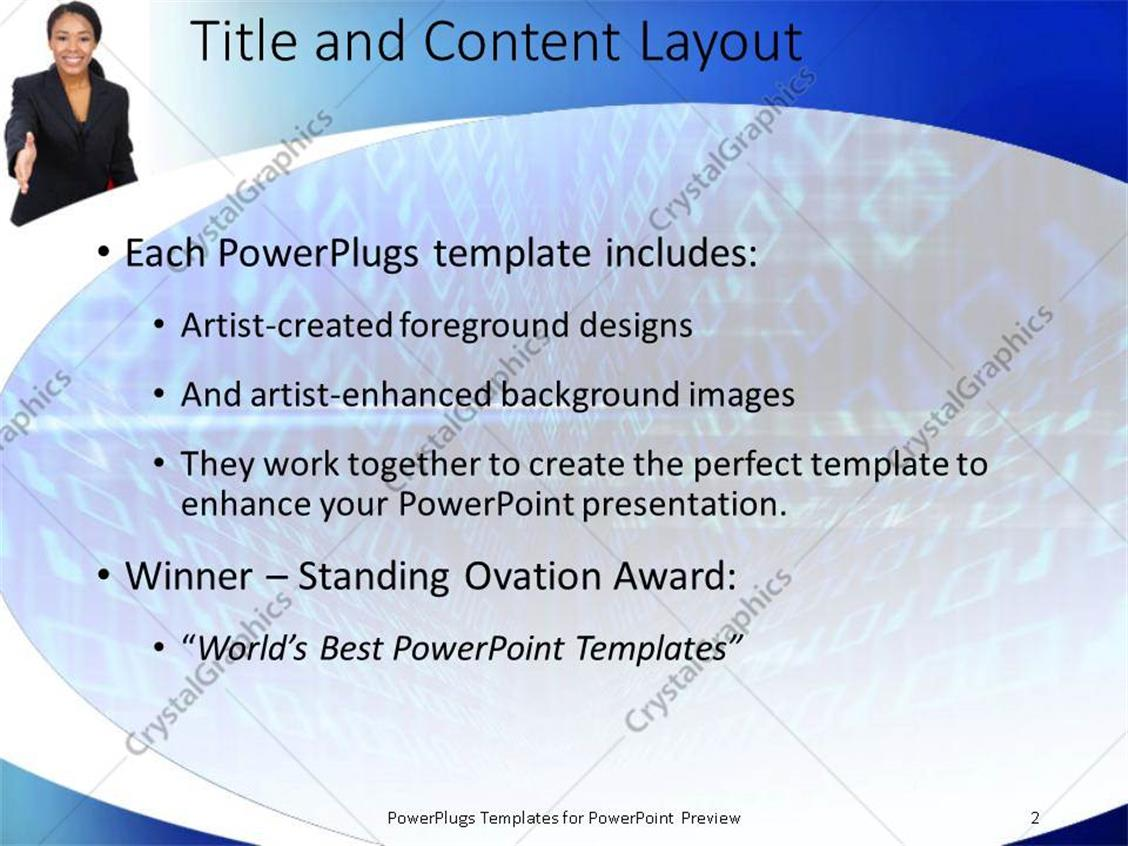 Powerpoint template african american business women with red powerpoint products templates secure toneelgroepblik Choice Image