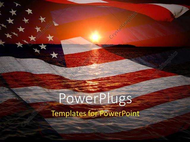 america ppt template