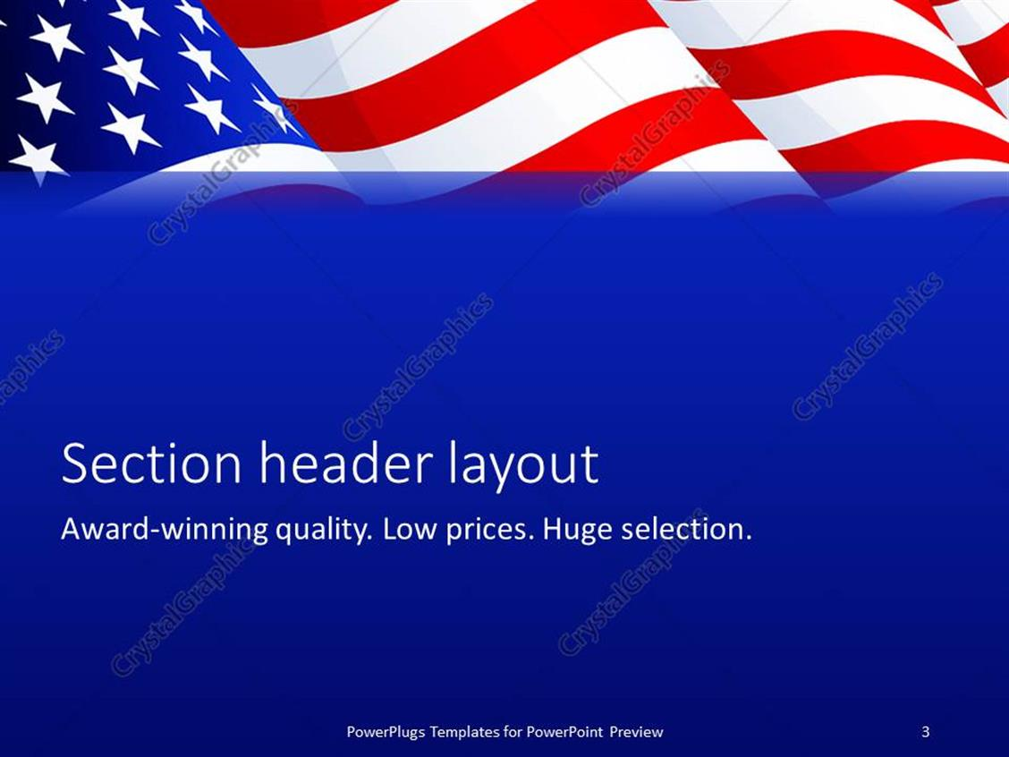 microsoft powerpoint templates american flag images