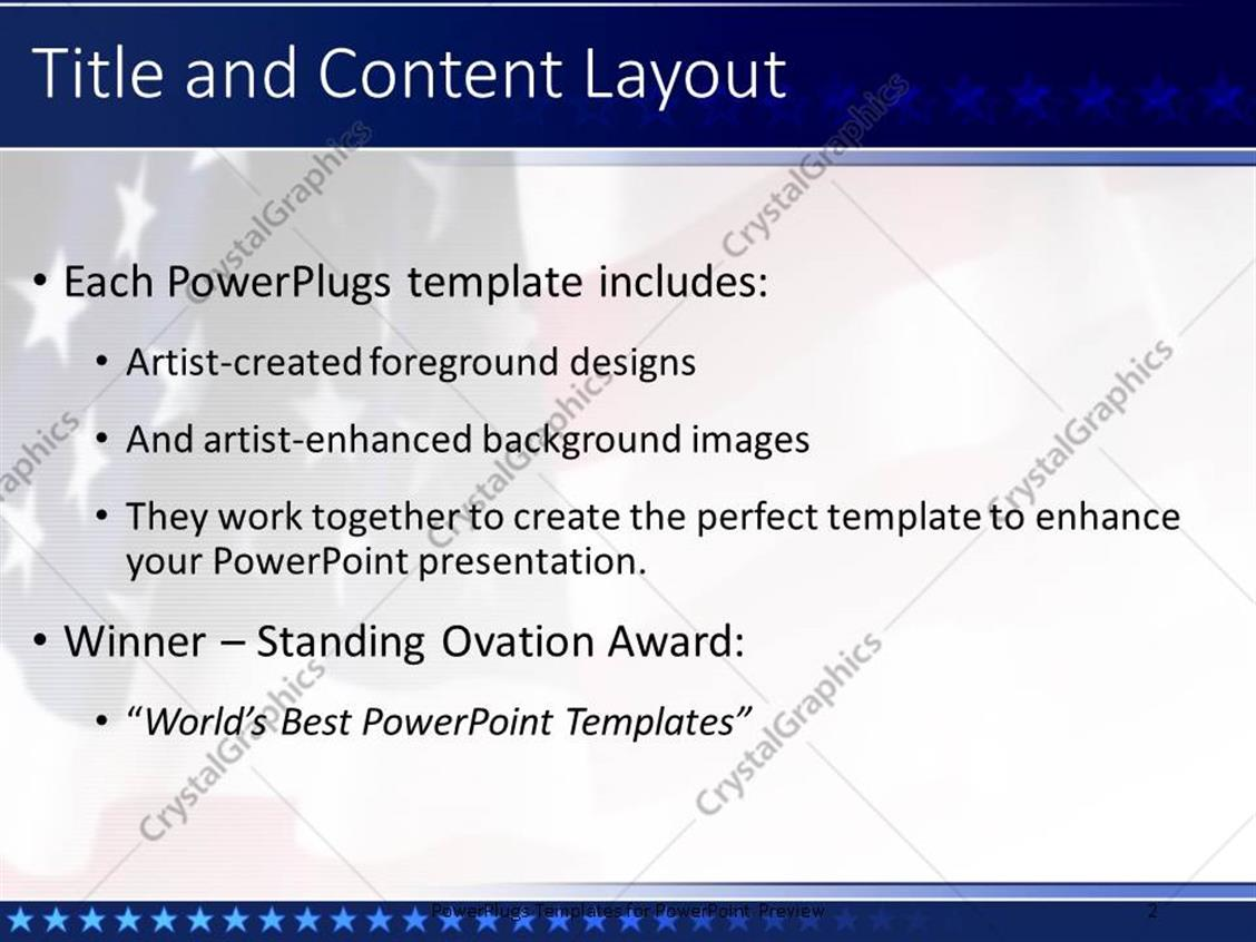 patriotic powerpoint template gallery - templates design ideas, Modern powerpoint