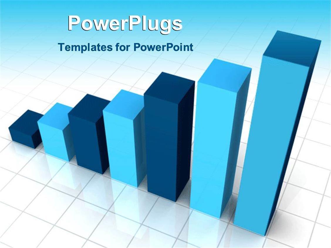 Flash powerpoint templates crystalgraphics presentation featuring animated bar chart flashing shades of blue toneelgroepblik Choice Image