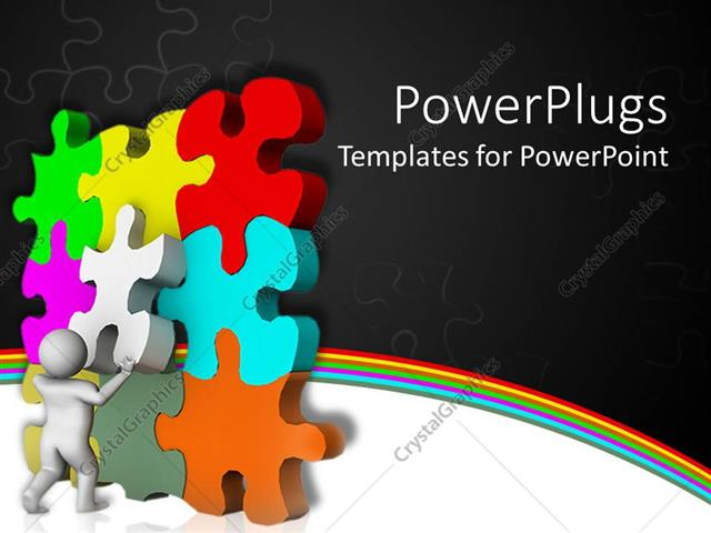 PowerPoint Template: Animated colorful tiles being ... - photo#14