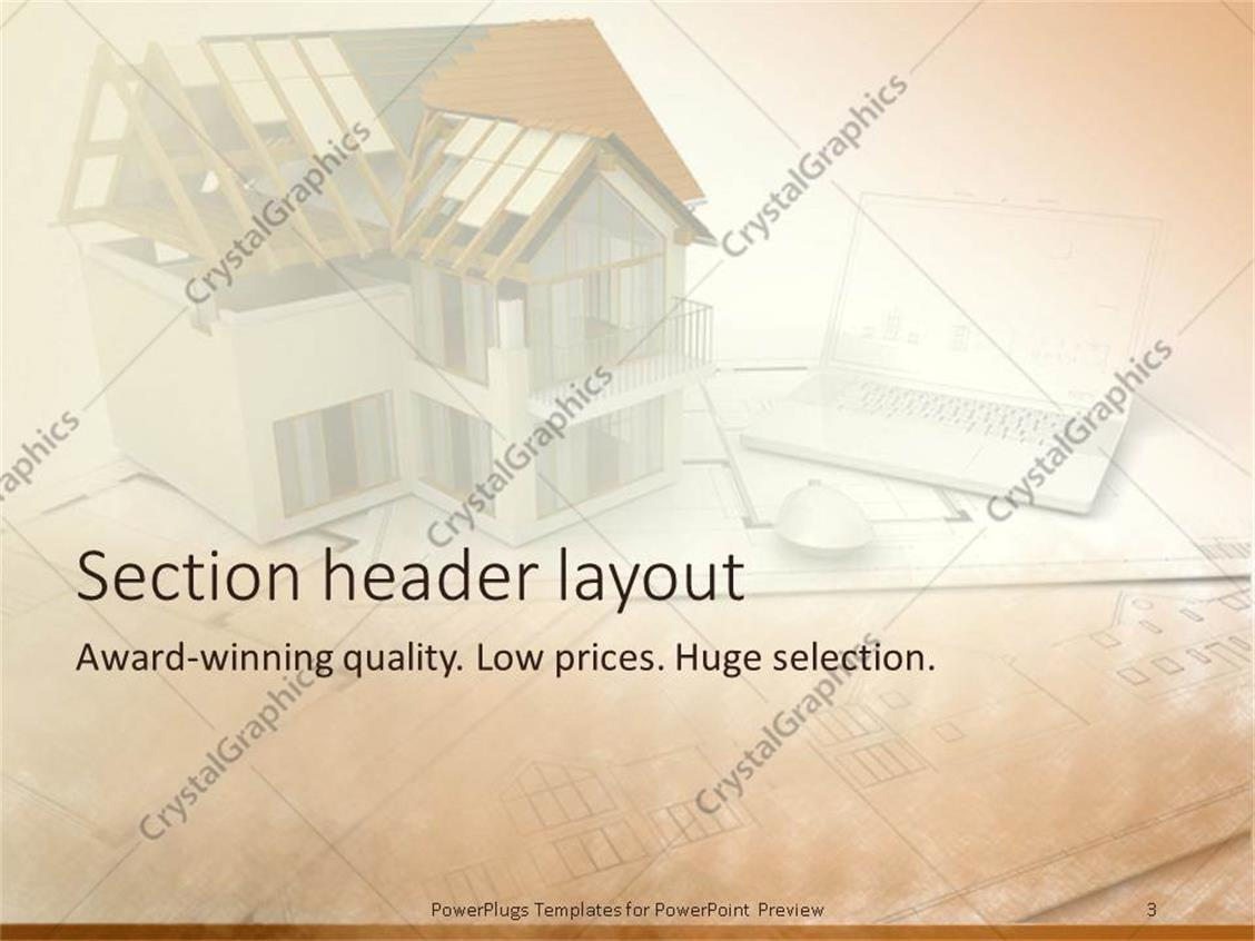 architectural powerpoint templates images - templates design ideas, Modern powerpoint