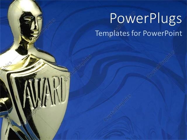 powerpoint template: award ceremony (2424), Modern powerpoint