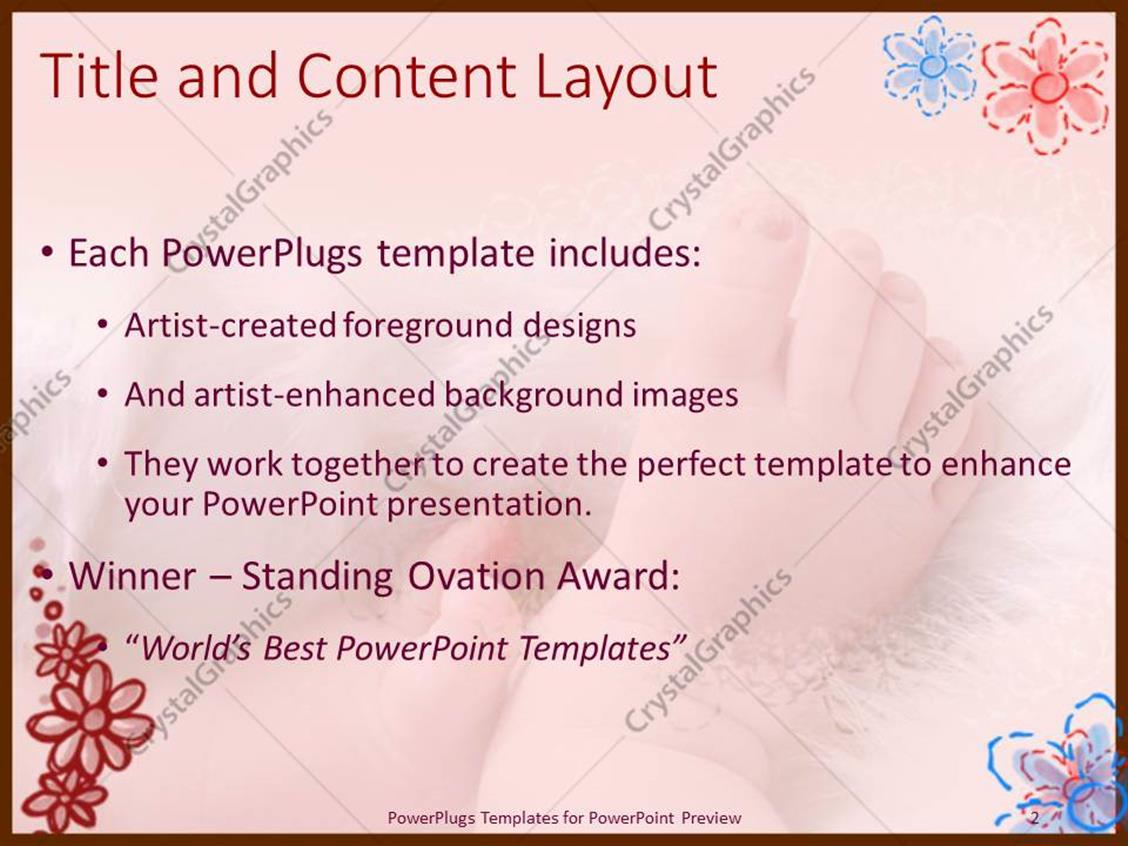 Pretty free baby powerpoint templates images example resume and powerpoint templates free download baby shower choice image alramifo Choice Image