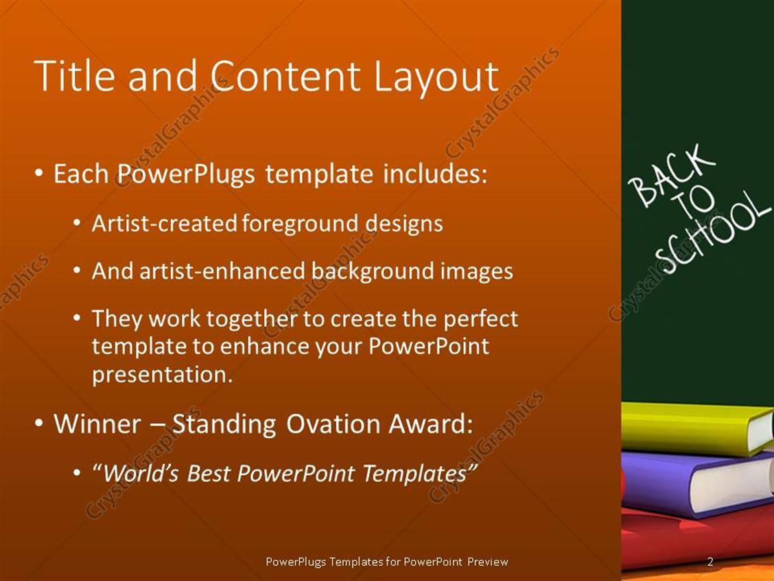 Powerpoint template back to school classroom with chalkboard and powerpoint products templates secure toneelgroepblik Choice Image