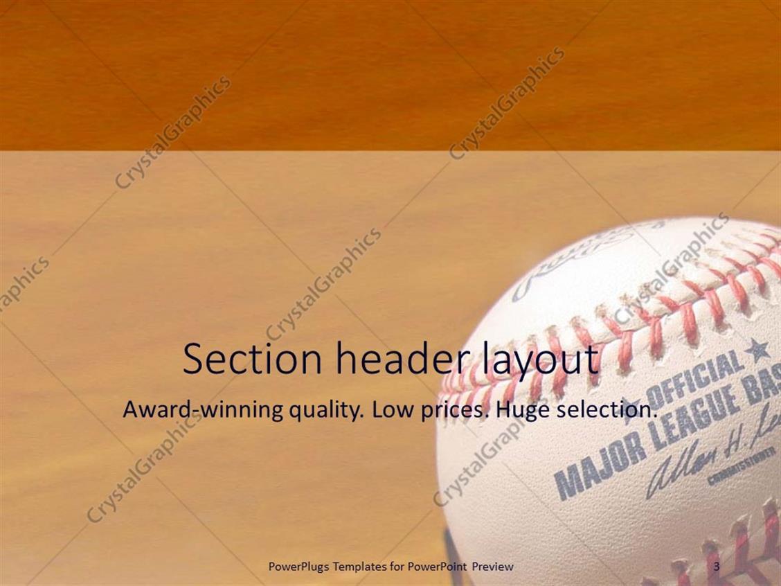 Baseball powerpoint template 6691581 - hitori49.info