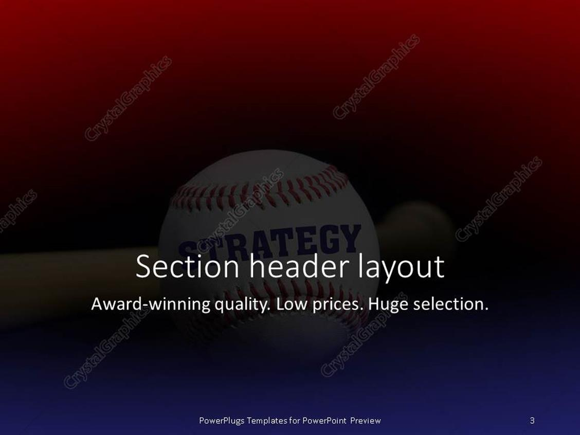 Powerpoint template baseball with text strategy written with powerpoint products templates secure toneelgroepblik Image collections