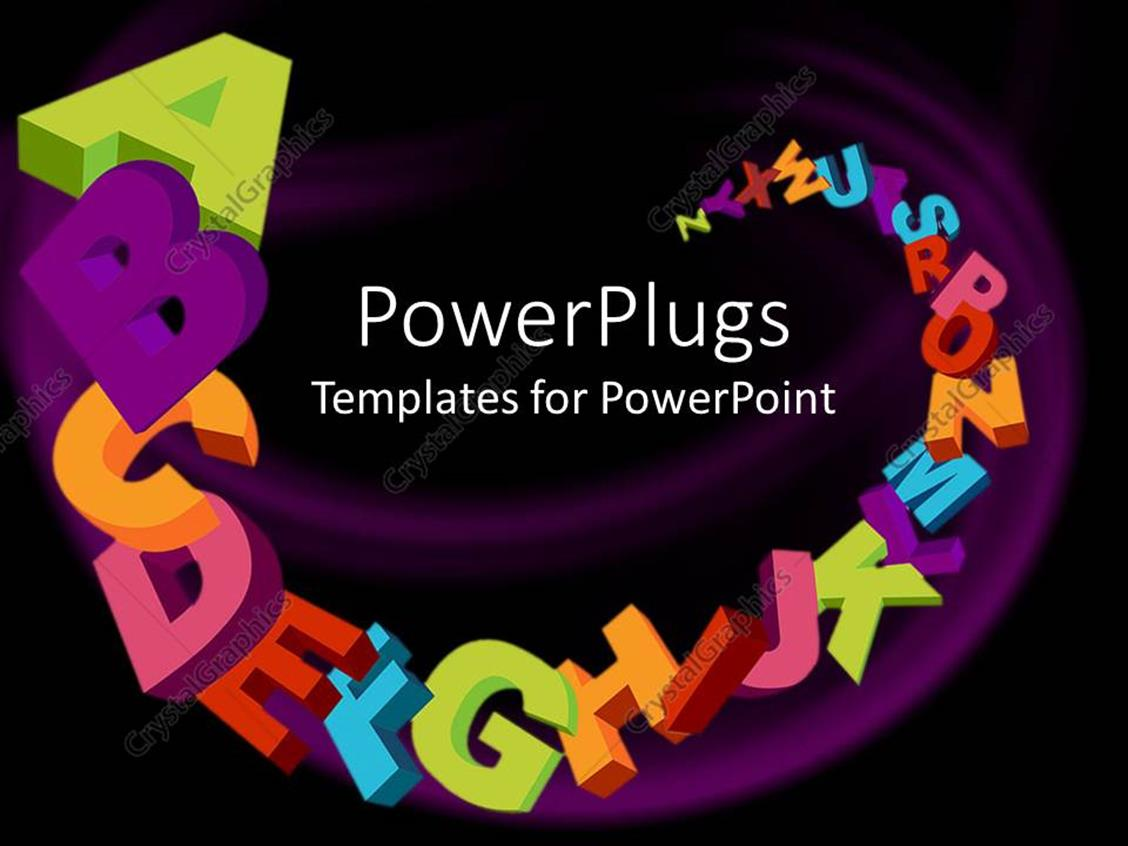 PowerPoint Template Displaying Basic Knowledge