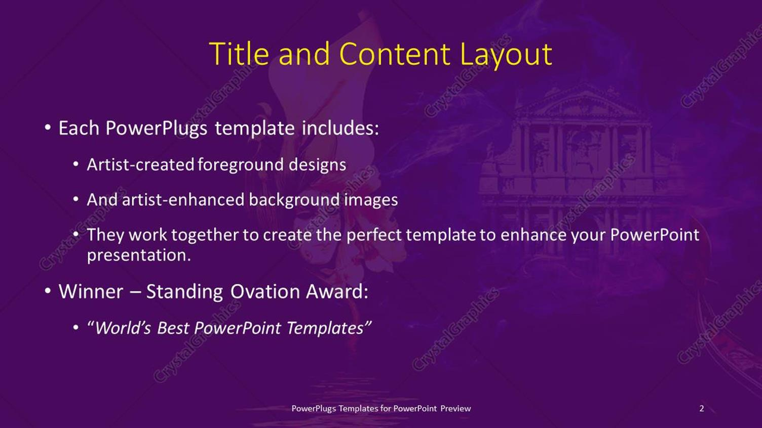 powerpoint template: a beautiful sketch with building in the, Presentation templates