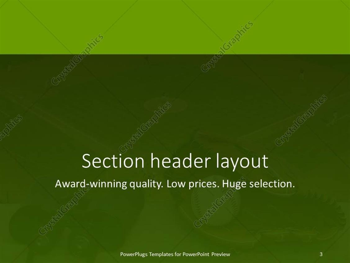 Powerpoint template binoculars baseball and glove on ledge powerpoint products templates secure standing ovation award toneelgroepblik Image collections