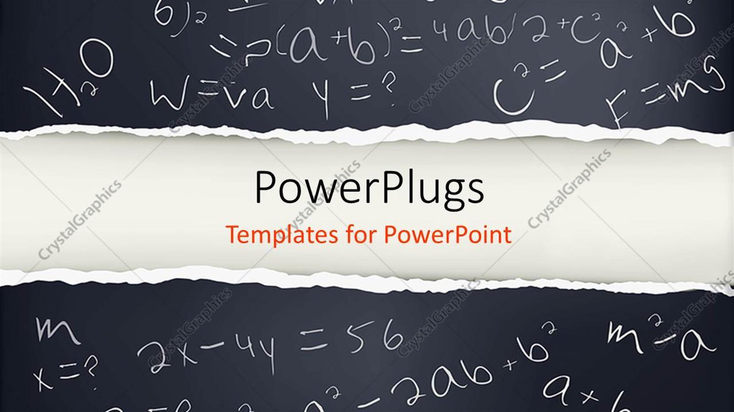 Math Template Powerpoint