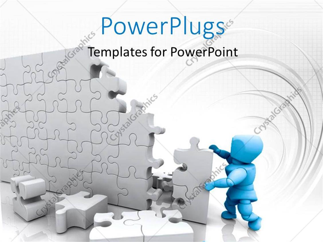 comfortable puzzle template powerpoint photos - resume ideas - www, Presentation templates