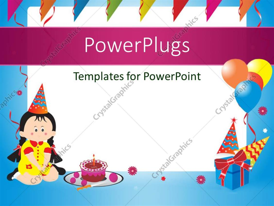 birthday ppt template