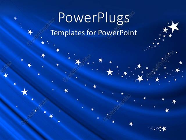 Powerpoint template blue curtain background with white stars 27345 powerpoint template displaying blue curtain background with white stars toneelgroepblik Gallery