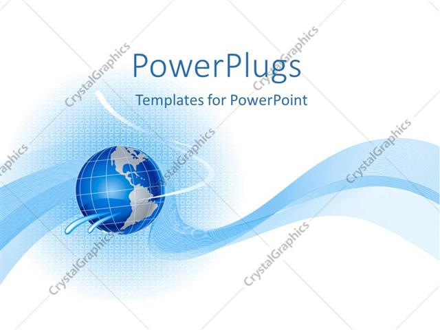 Powerpoint template blue globe on cute abstract background 14215 powerpoint template displaying blue globe on cute abstract background toneelgroepblik Images