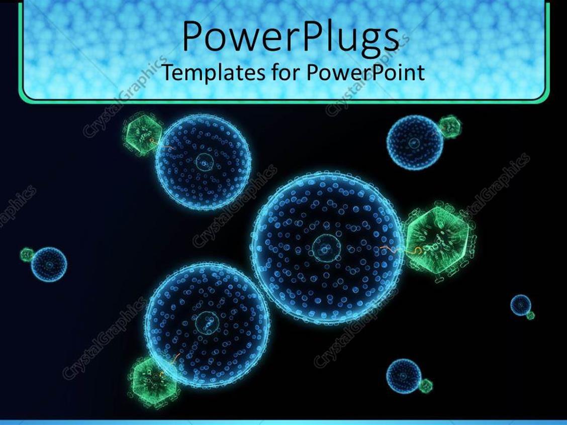 Virus powerpoint template free green virus organism russian powerpoint template blue and green hive virus cells with virus powerpoint template free toneelgroepblik Images