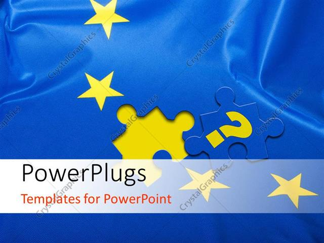 Powerpoint template blue jigsaw puzzle with missing piece and powerpoint template displaying blue jigsaw puzzle with missing piece and yellow stars toneelgroepblik Image collections