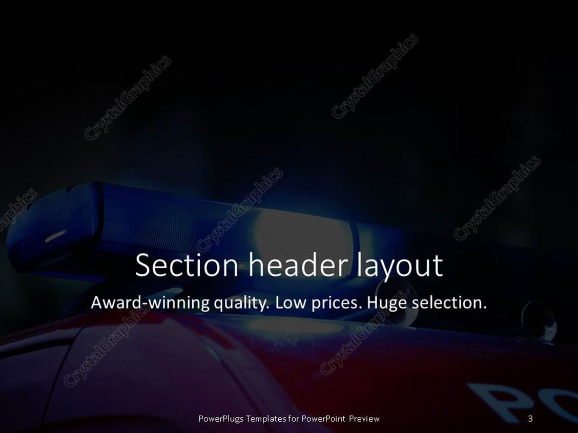 powerpoint templates free law enforcement choice image
