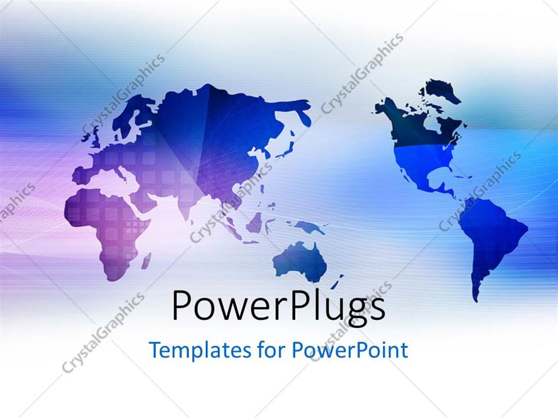 World Map Template Powerpoint Elioleracom - Editable us map for powerpoint free
