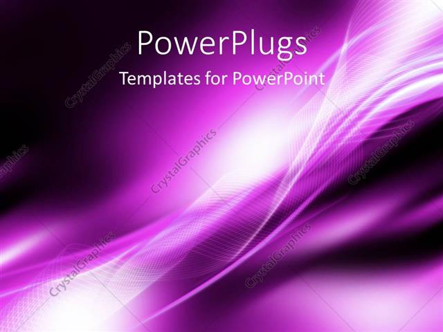 powerpoint template: bright white curved patterns on purple, Powerpoint templates