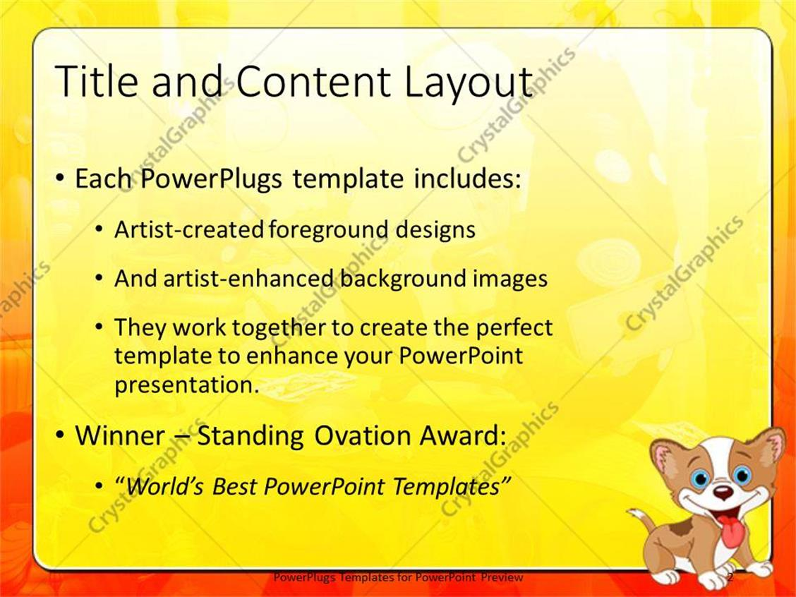 animal powerpoint templates gallery - templates example free download, Modern powerpoint
