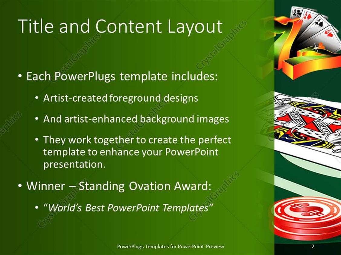 Wheel of Riches PowerPoint Template  Plays Just Like