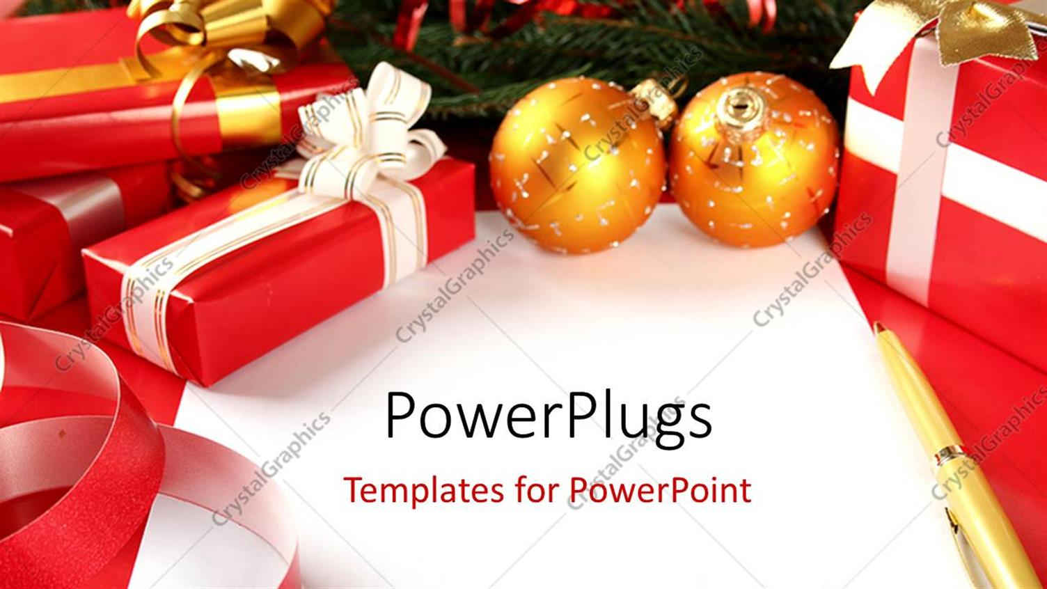 power point christmas cards