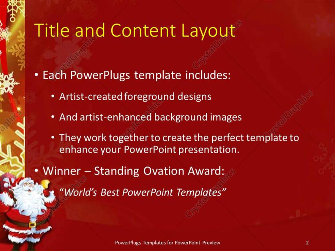 100 powerpoint holiday templates xmas backgrounds wallpaper powerpoint holiday templates powerpoint template christmas theme with santa claus ringing toneelgroepblik Image collections