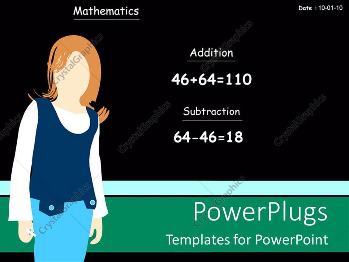 free math powerpoint templates for teachers gallery - templates, Modern powerpoint