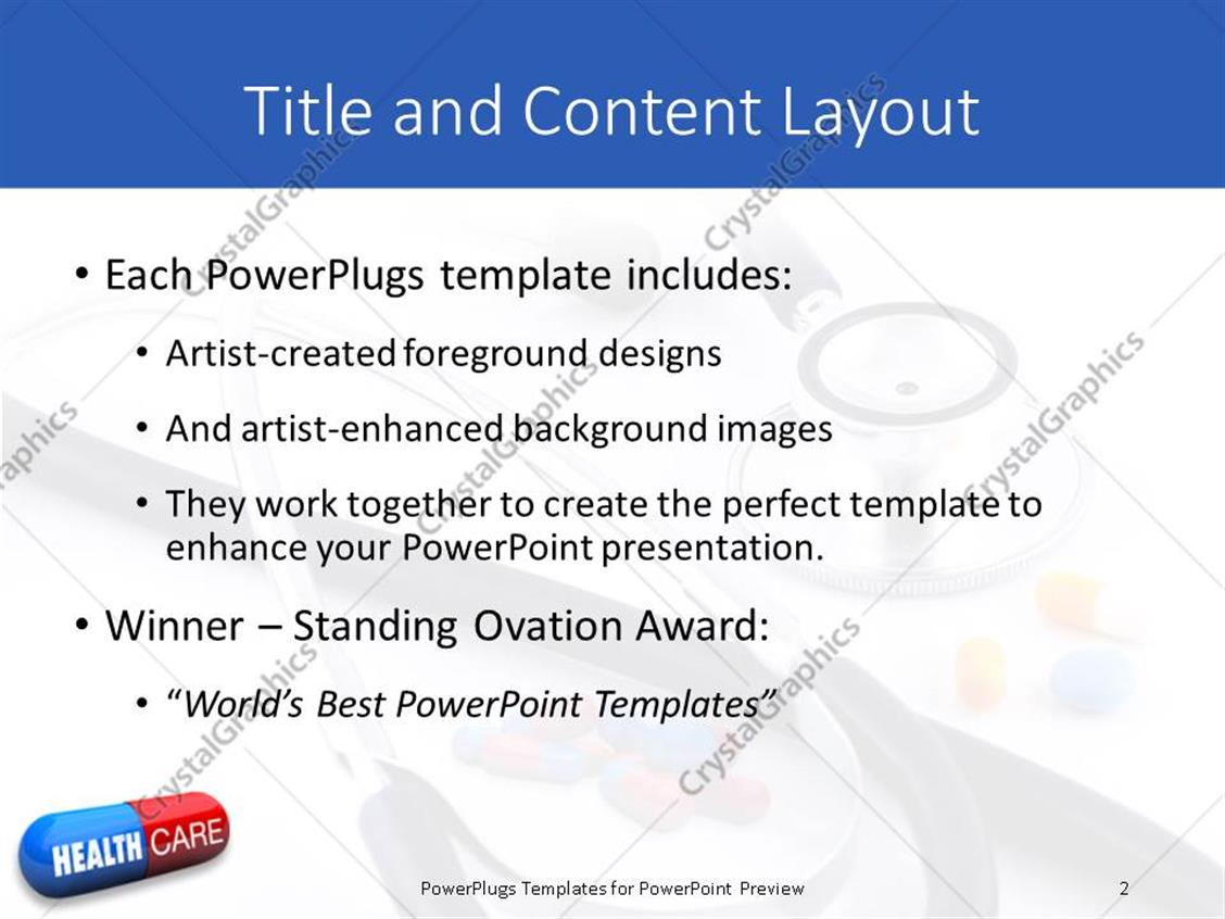 free healthcare powerpoint templates images - templates example, Powerpoint templates