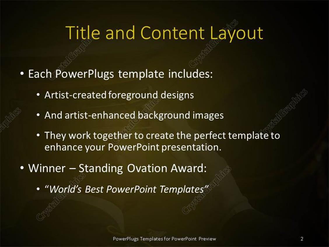 powerpoint template: a close up view of an serving official, Powerpoint templates