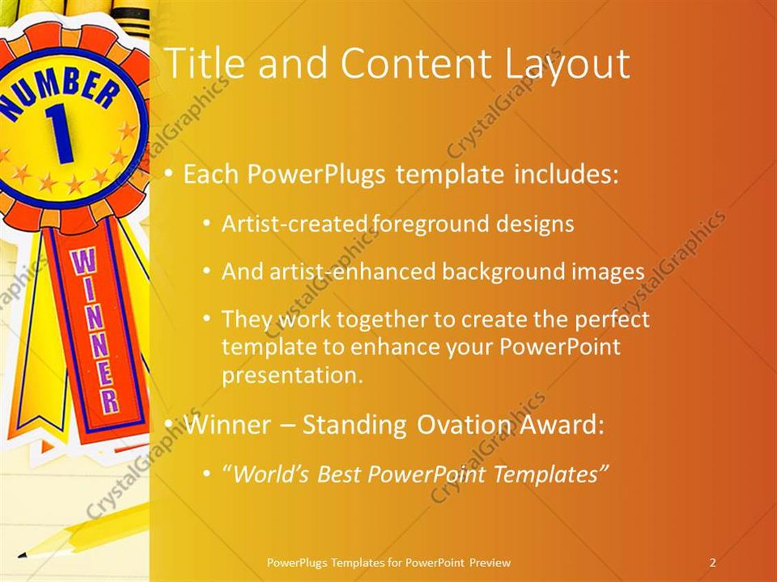 Powerpoint template colorful crayons on lined paper with pencil powerpoint products templates secure toneelgroepblik Images