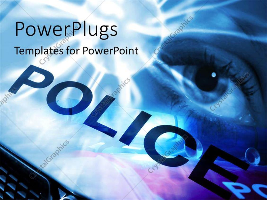 Free Law Enforcement Powerpoint Templates