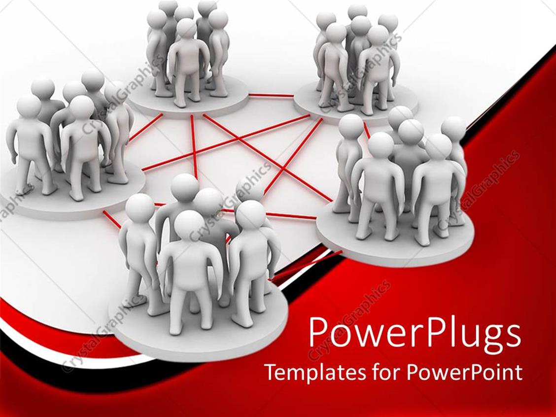 Powerpoint template conceptual design of teamwork to achieve powerpoint template displaying conceptual design of teamwork to achieve common goal toneelgroepblik Images