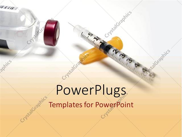 powerpoint template: diabetic drugs and medicine from, Modern powerpoint