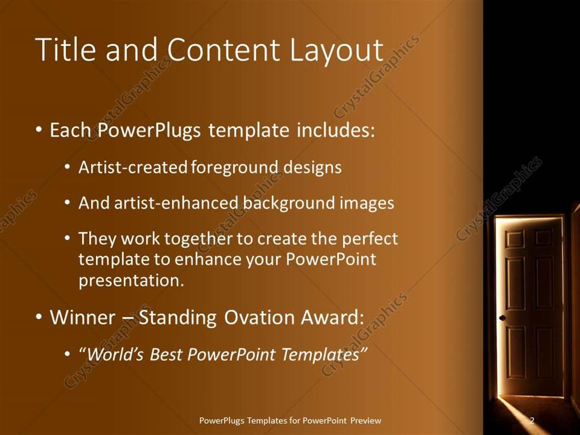 powerpoint template oscar award image collections - powerpoint, Presentation templates
