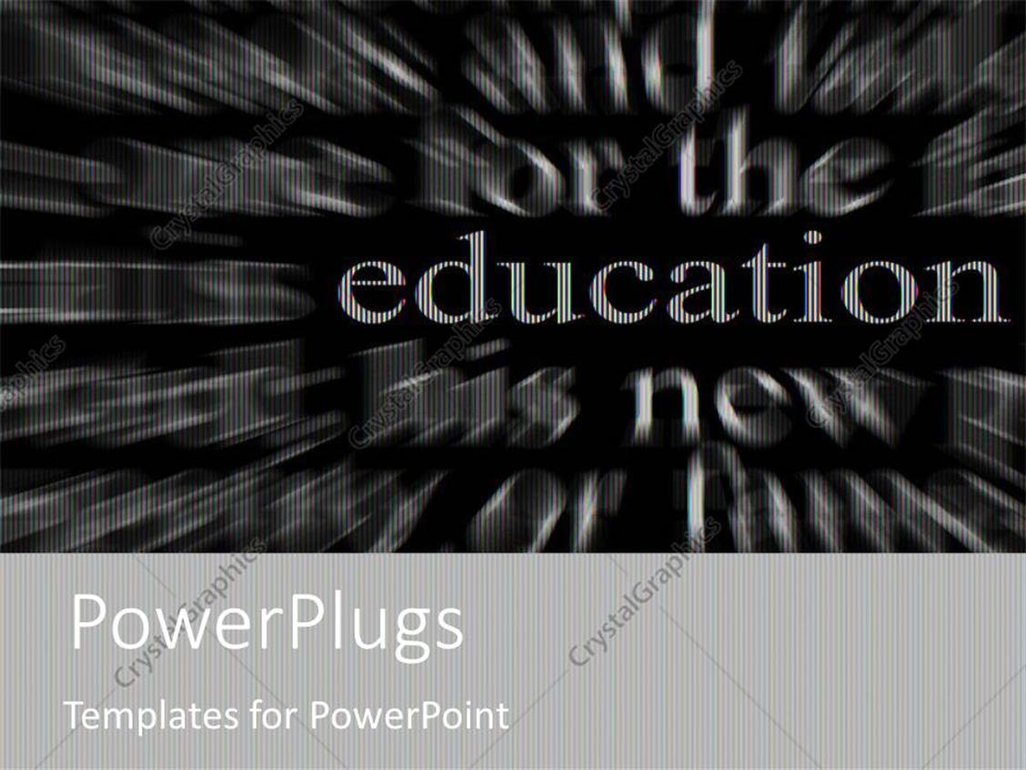 powerpoint templates black and white