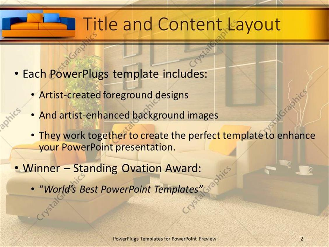 Powerpoint template exquisite contemporary designed living room powerpoint products templates secure toneelgroepblik Gallery