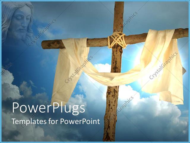Jesus Christ PowerPoint Templates  PoweredTemplate