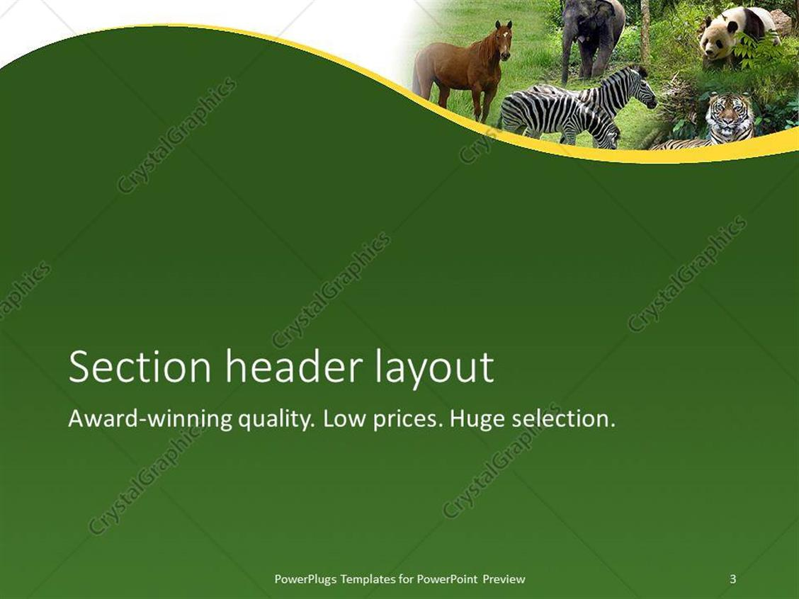elephant powerpoint template image collections - templates example, Modern powerpoint