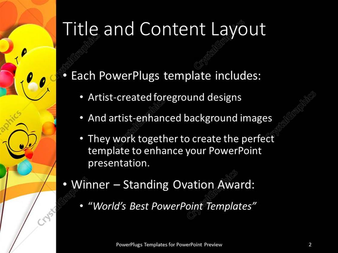 Powerpoint certificate templates certificate powerpoint wish lists 100 powerpoint award templates certificate powerpoint award five yellow colored smiley ballons xl 2816 xflitez Image collections