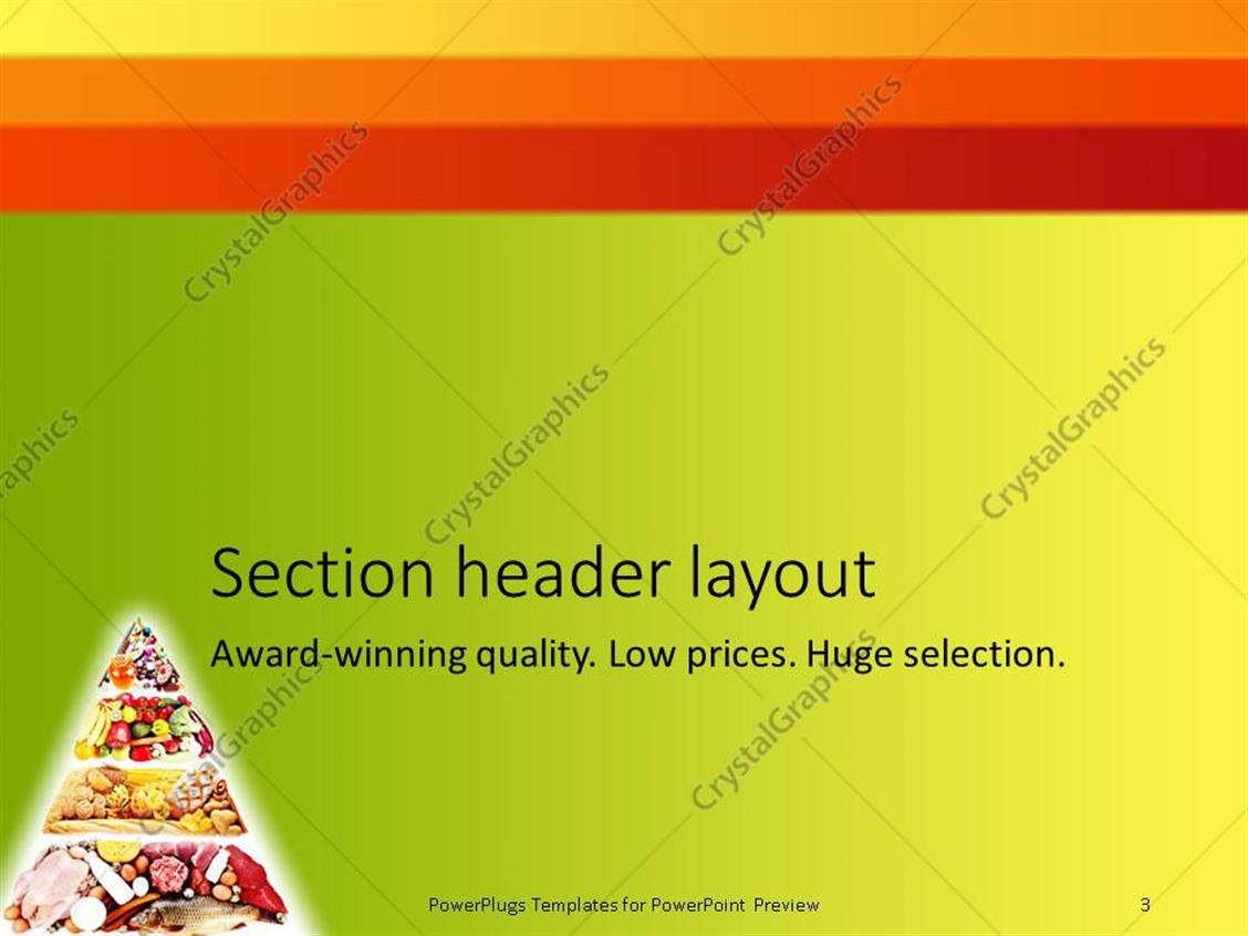 Pyramid game powerpoint template