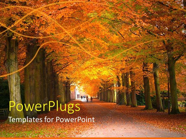 fall ppt template